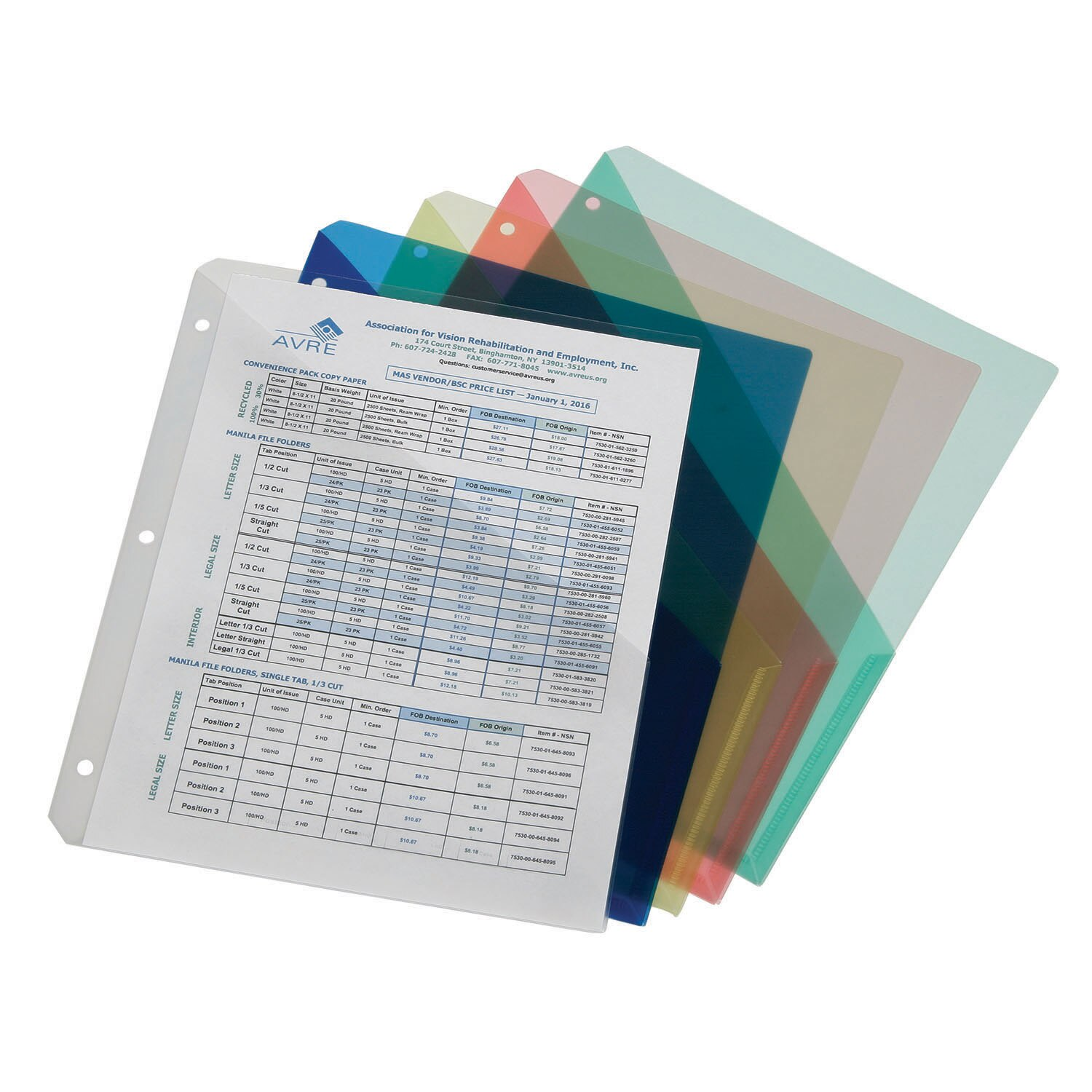 "7510-01-519-4376 Gray ABILITY ONE 3-Ring Binder,1-1//2/"",Gray"